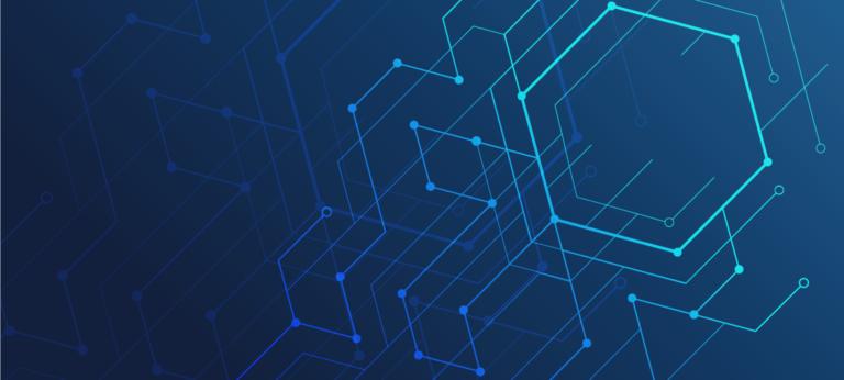 blog image – lines blue